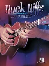 Rock Riffs : For Ukulele with Tab (2014, Paperback)
