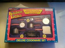 1995 Tyco Kitchen Littles Deluxe Cookware Set *NEW* *COMPLETE* *NIB*