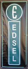EDSEL CAR SALES AUTO DEALER STANDARD BANNER VINTAGE SIGN GARAGE ART 2' X 5'
