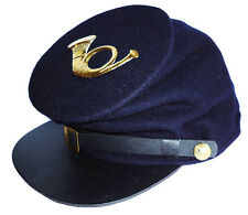 American Civil War Enlisted Union Infantry Forage Cap & Badge Medium 56/57cms
