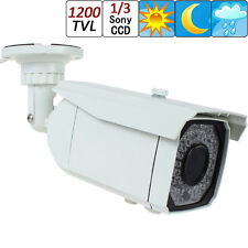 "1200TVL 1/3"" Sony HAD CCD II Varifocal Lens Effio-E DSP 66 IR LEDs CCTV Camera"