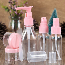 6pcs/Set Travel Kit Empty Lotion Cosmetic Makeup Case Container Spray Bottle #1A