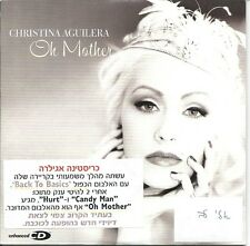 CHRISTINA AGUILERA OH MOTHER ISRAELI PROMO CD VERY RARE