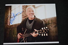 PETER FRAMPTON signed Autogramm In Person 20x25 cm  rar!!