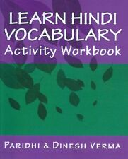 Learn Hindi Vocabulary Activity Workbook NEW