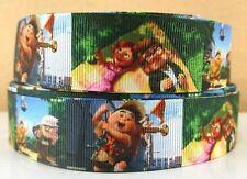 """BTY 1"""" UP Disney Cartoon Movie Grosgrain Ribbon Hair Bows Scrapbooking Lisa"""