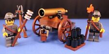 LEGO® brick CIVIL WAR Custom CONFEDERATE ARTILLERY CANNON Limited Napoleon Ed