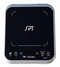 Sunpentown Micro Induction Cooktop Portable Countertop 1650W Silver SR-1883S