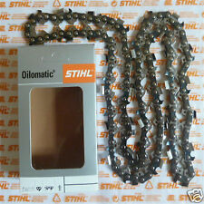"""20"""" 50cm Genuine Stihl RS3 Chainsaw Chain MS440 440 044 3/8"""" 1.6mm 72 DL Tracked"""