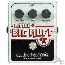 Electro Harmonix Little Big Muff Pi Distortion Overdrive Sustainer Guitar Pedal