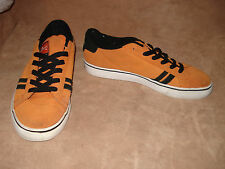 EMERICA Skate Shoes LEO ROMERO, Rare Orange and Black, Black Sole, Mens 11 M