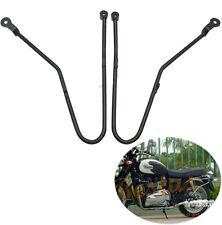 Saddlebag Bag Support Black Guard Bar For Triumph Bonneville SE T100 2002-2016
