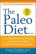 The Paleo Diet by Loren Cordain Ph.D. 2010 Paperback Over 100 Recipes WT50599