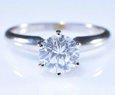 1.01ct Solitaire Diamond GIA SI1-G$11,000 Tiffany Engagement Ring 14k White Gold
