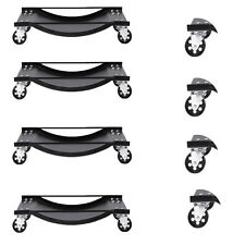 "Set of (4) 3.5"" Set Tire Wheel Dollies Dolly Vehicle Car Auto Repair Moving HD"