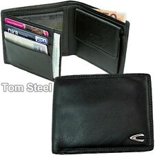 CAMEL ACTIVE HERREN-GELDBEUTEL SCHWARZ MEN´S WALLET
