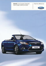 Ford-Focus-Coupé-Cabriolet - Blue Magic - 06/08 - Allemand-NL-Correspondance