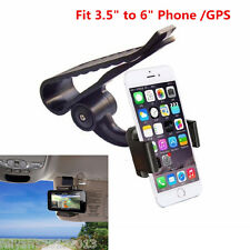 Car Sun Visor Clip Mount Holder Stand Bracket For All Cell Phone iPhone 6/6S 7