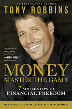 MONEY Master the Game by Tony Robbins (Hardcover)