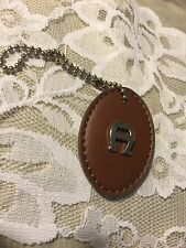 ETIENNE AIGNER KEY CHAIN WITH PURSE CLIP      USED