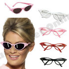 1950S 50S PINK LADY ROCK N ROLL SUNGLASSES GLASSES GREASE FANCY DRESS COSTUME