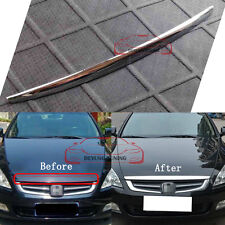 JDM Front Grille Hood Lip Cover Trim for Honda Accord 2003 2004 2005 2006 2007