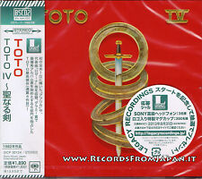 Toto - Toto IV - Blu-spec CD 2 - Japan press with OBI - Sealed - SICP-30124