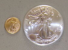 2017 1 oz American Silver Eagle & 2017 1/10 oz American Gold Eagle Package Lot
