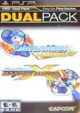 Mega Man Dual Pack: Powered Up & Maverick Hunter X Dual Pack (Sony PSP, 2011)