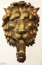 Bronze Lion's Head with Ball Bearing Eyes ca. 1958