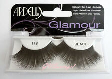 NIB~ Ardell Glamour Lashes #115 Fake False Lash LONG Black Eyelashes Fashion