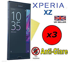 3x HQ MATTE ANTI GLARE SCREEN PROTECTOR COVER FILMS GUARDS FOR SONY XPERIA XZ