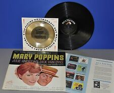 Walt Disney's Mary Poppins USA '64 RCA LP+ ultra rare old golden Oscar flexi 7""