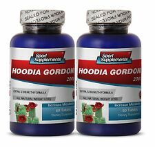 Fat Burner Supplement - Hoodia Gordonii 2000mg - Botanical Weight Loss Pills 2B
