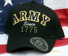 US ARMY SINCE 1775 HAT CAP RETIREMENT PROMOTION GIFT VETERAN WOWAH PIN UP WOW