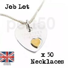 High Quality Job Lot Wholesale Together Forever Necklace Pendant Carboot Cheap