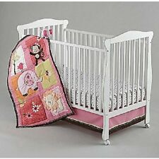Raspberry Jungle 5 Piece Crib Bedding Set by Nojo W Musical  Mobile