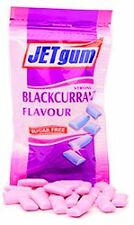 Jet Chewing Gum Blackcurrant Sugar Free Menthol ( 45g Pack )