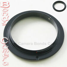 55 MM 55MM Macro Reverse Lens Mount Adapter Ring For Sony Alpha A DSLR camera