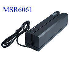MSR606i Magnetic Stripe Credit Card Reader Writer Encoder Magstripe Swipe MSR206