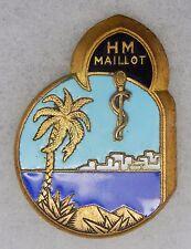 INSIGNE SERVICE DE SANTE - Hôpital Militaire MAILLOT - ALGER