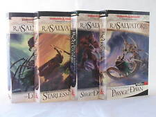 Legacy of the Drow / Legend of Drizzt 7-10 in Series by R.A. Salvatore (MM PB)