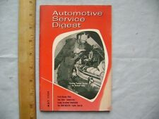 1954 Automotive Service Digest . Clown Emmett Kelly Photo on Cover.