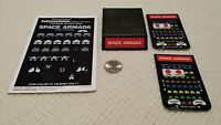 Mattel Intellivision Space Armada with manual and two (2) overlays