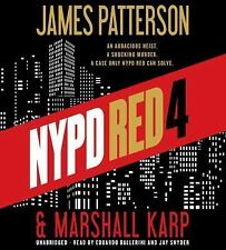 New Audio Book NYPD RED 4 James Patterson Unabridged on 7 CDs Karp