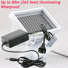 Whatproof 96LED IR Infrared Illuminator Lamp With 12V 2A Converter Power Adapter