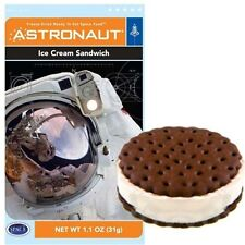 Space Ice Cream Sandwich Flavor Astronaut Freeze Dried Food Dehydrated Alien