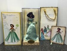 Tiana Disney Princess Designer Collection Doll w/COA, Gift Bag & Journal - NEW