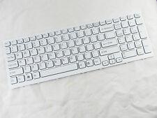 New Genuine SONY VAIO PCG-71211M PCG-71212M PCG-71213M US WHITE KEYBOARD