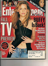 SARAH MICHELLE GELLAR BUFFY TV PREV ET 2001 AALIYAH ROB LOWE BAND OF BROTHERS
